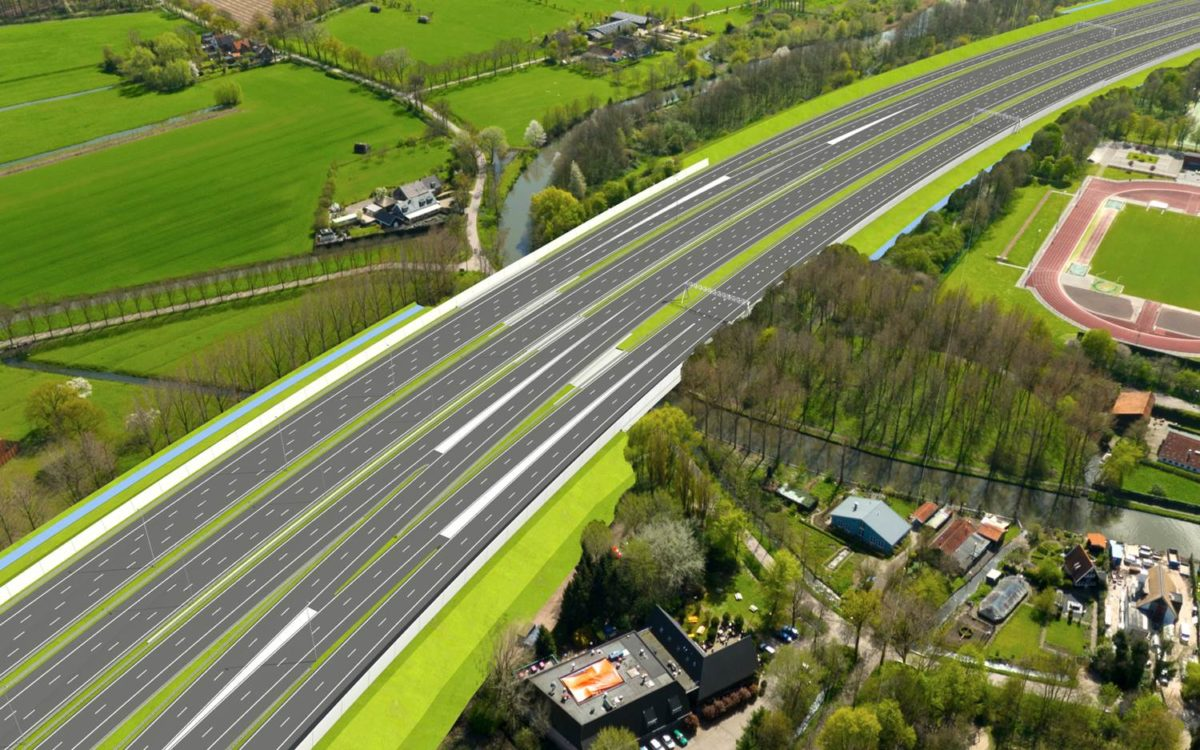 Verbreding Ring Utrecht onzeker door stikstofuitspraak Raad van State