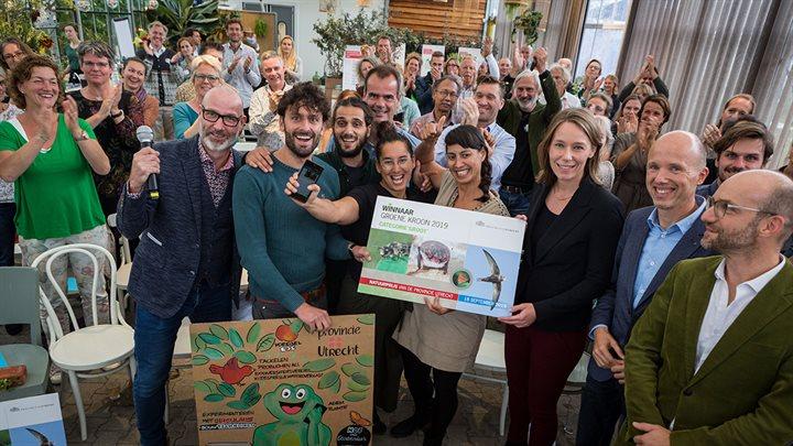 De Utrechtse Steen en Groene Werkplekken 2.0 winnen de Groene Kroon