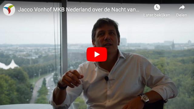 Jacco Vonhof (MKB-Nederland) nieuwe ambassadeur Nacht van de Nacht
