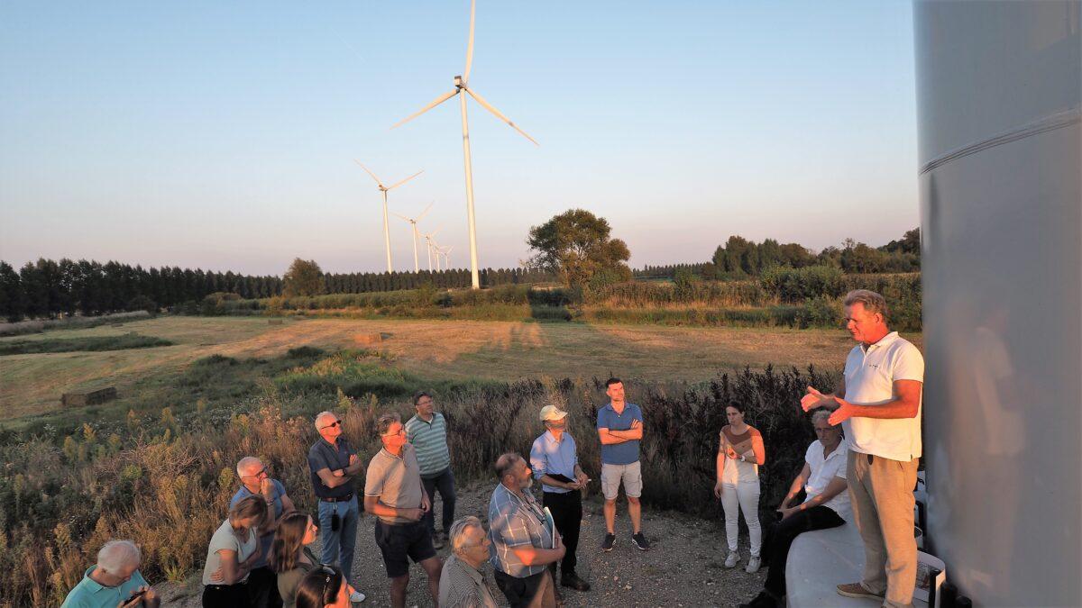 Excursie naar windpark Deil zorgt voor 'ear-openers'
