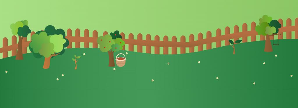 Boompjes planten in eigen tuin