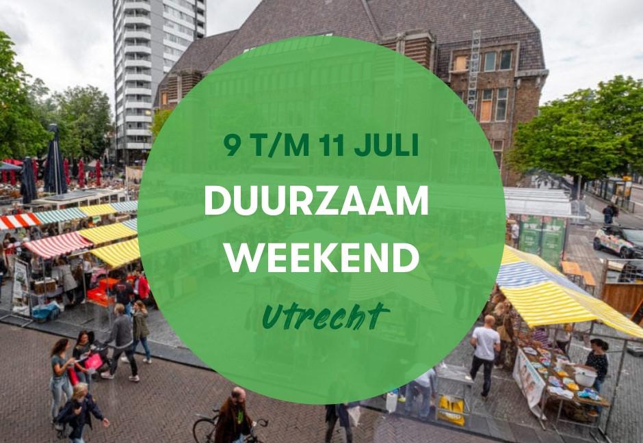 Duurzame Daken Expo tijdens Duurzaam Weekend Utrecht